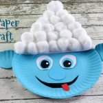 Smurf Paper Plate Craft w Swag Pack #Giveaway {Ends 4/9}