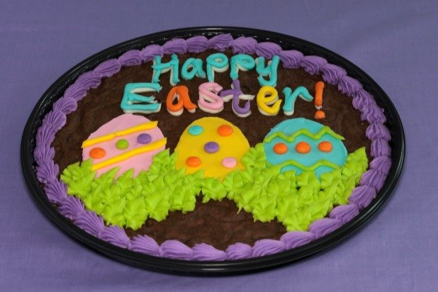 Easter Brownie Cake