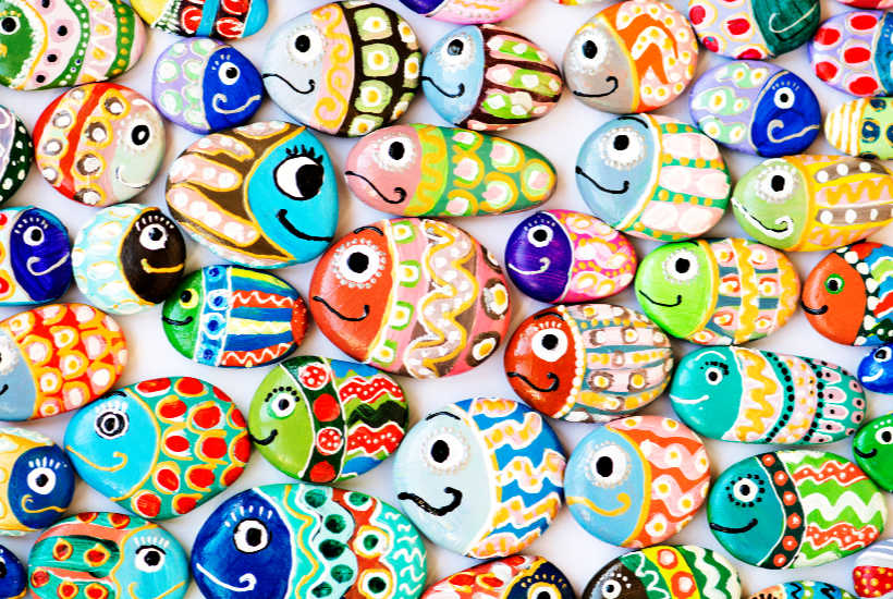 Easy Rock Painting Ideas For Beginners How To Paint On A Stone